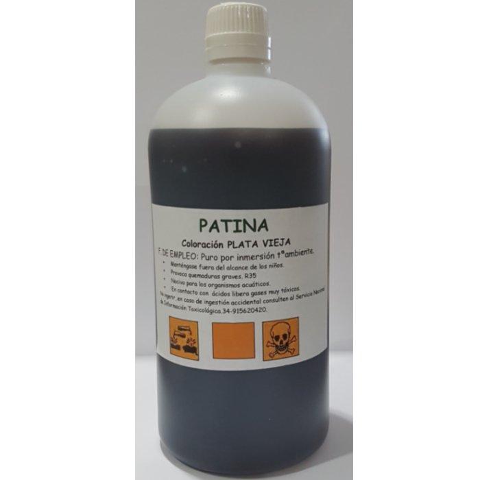 11,40€ Patina oxidante para plata por inmersion 1L