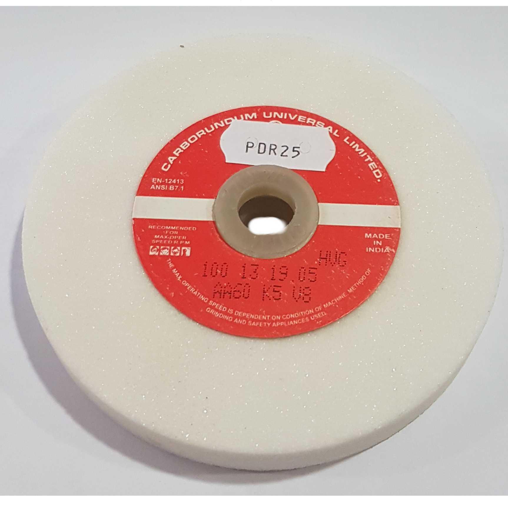 9,50€ Piedra afilar blanca p/motor Ø10cm