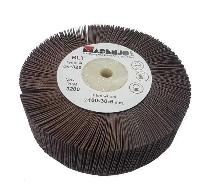 15,68€ Disco de lija 100x30 grano 320