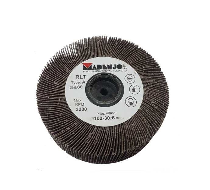 15,60€ Disco de lija 100x30 grano 80