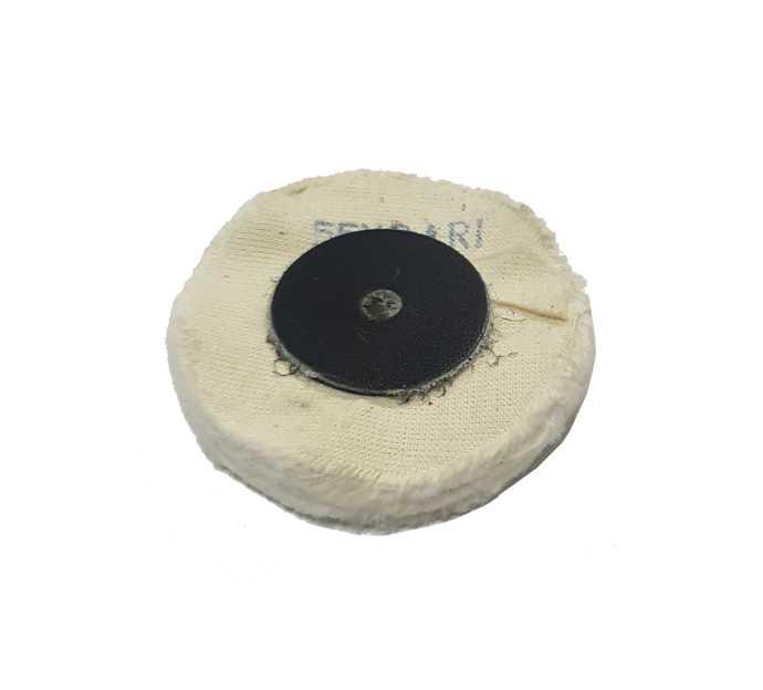 0,70€ Disco algodon blanco 55x24 R1