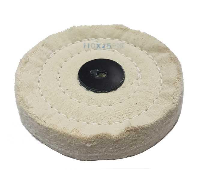 2,88€ Disco algodon blanco 110x45 R1