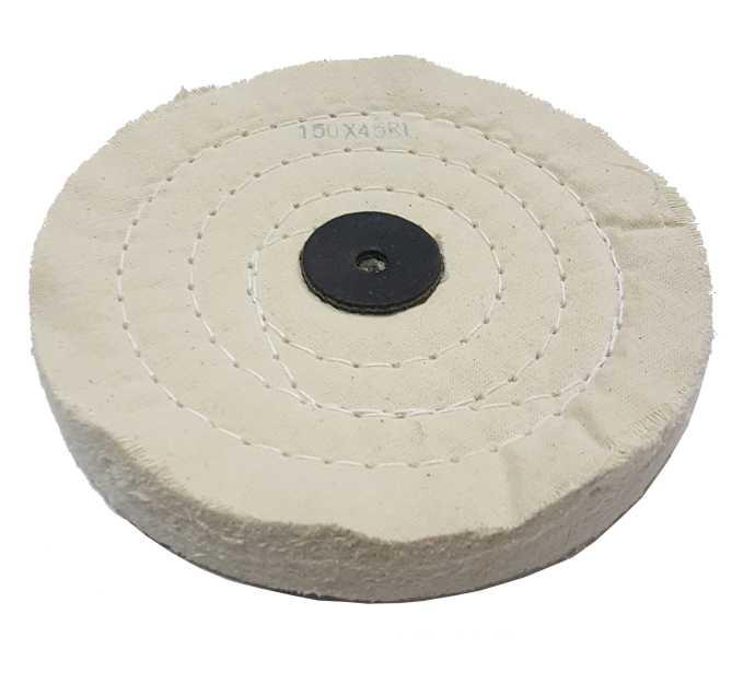 4,20€ Disco algodon blanco 150x45 R1