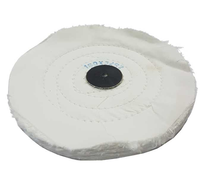 3,50€ Disco algodon blanco 150x32 R2