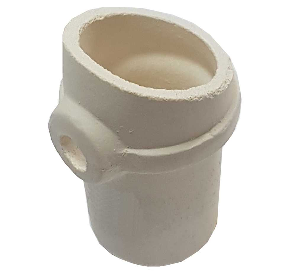 3,50€ Crisol ceramica para electronica 37x67