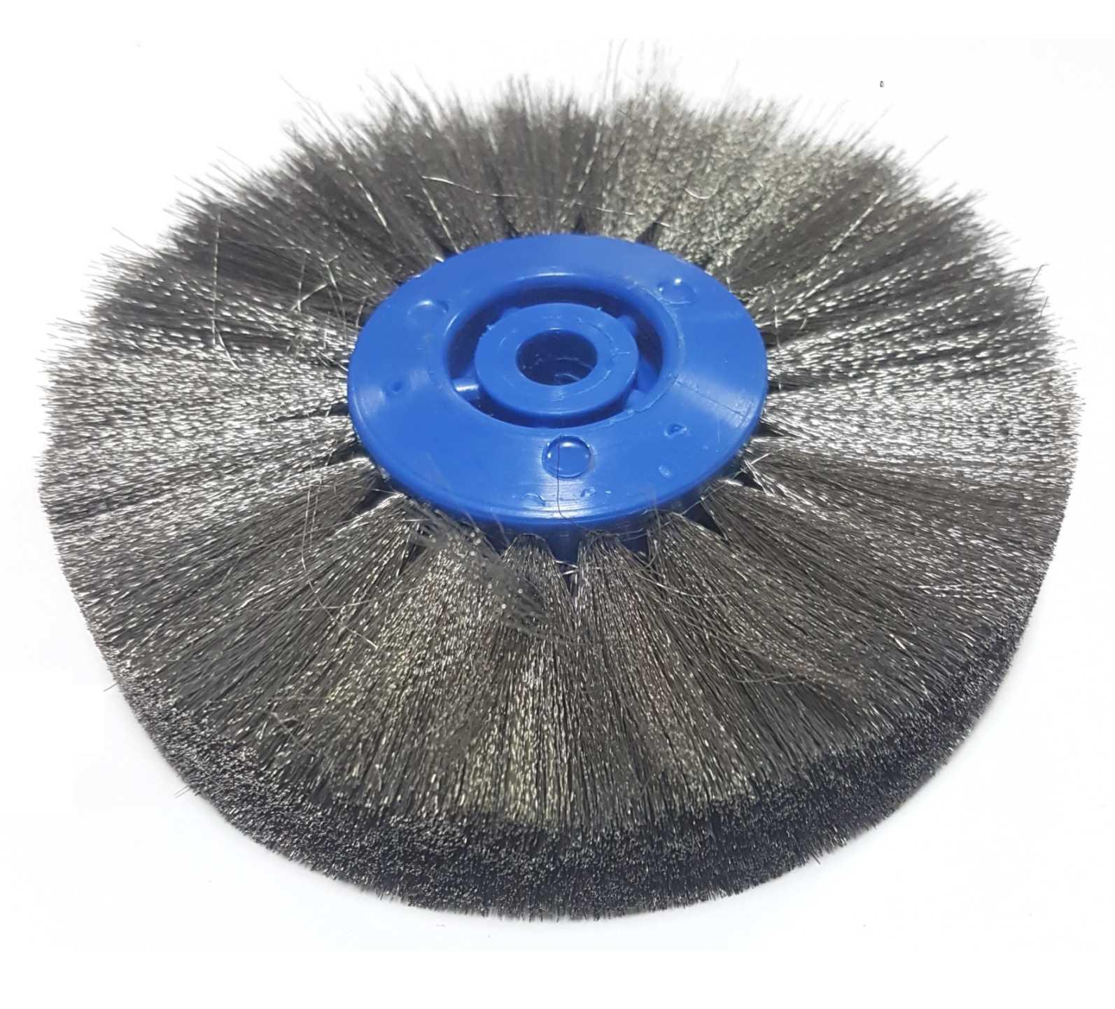 11€ Cepillo 100x4 acero - pelo 0,08mm