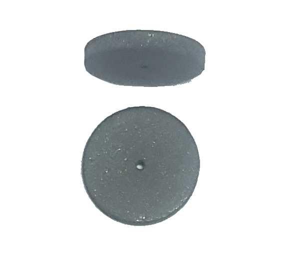 0,26€ Goma circular muy abrasiva gris