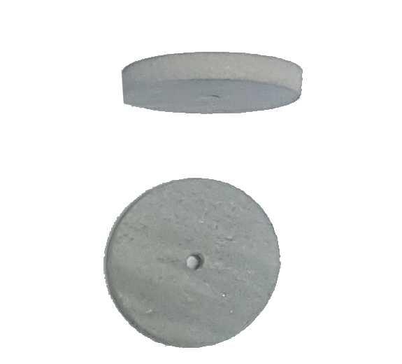 0,36€ Goma circular 22x3 Dedeco blanca abrasiva