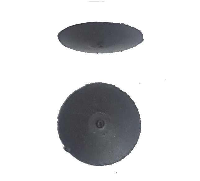 0,55€ Goma lenteja abrasiva gris