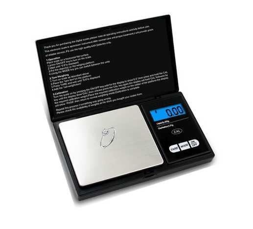 59€ Balanza de bolsillo 500gr/0,01gr