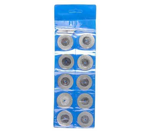14€ Juego 10 discos diamante c/mandriles