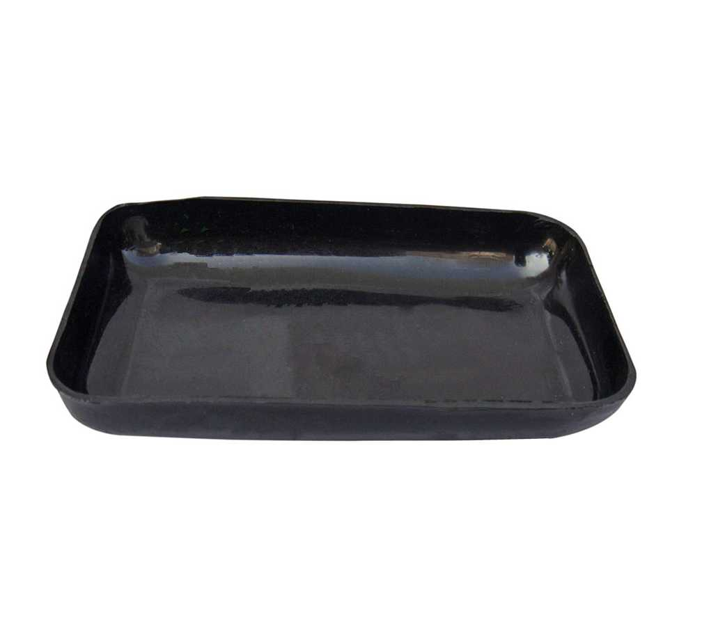 2,70€ Bandeja negra lisa 100x65mm