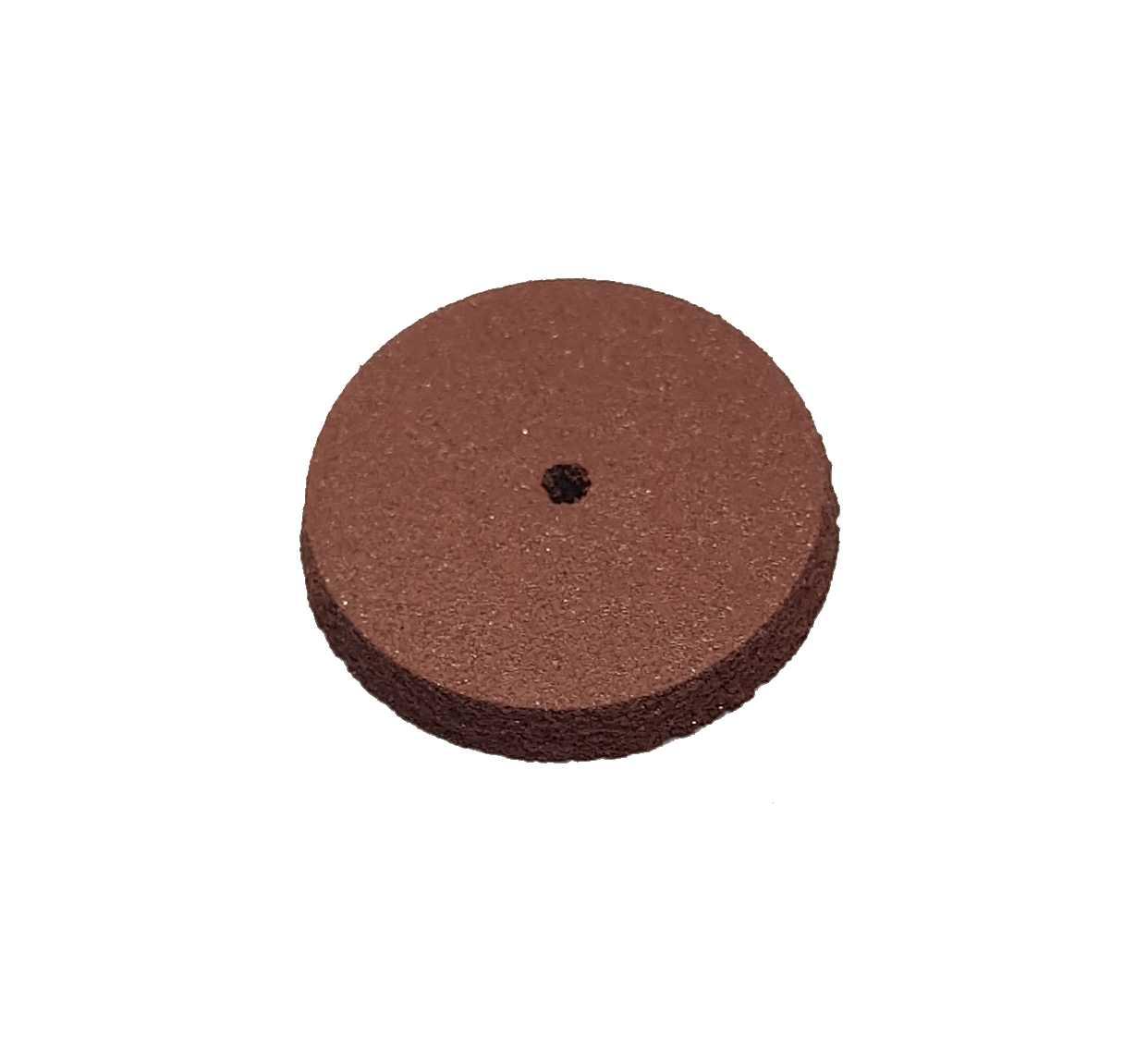 0,50€ Goma circular roja abrasividad media