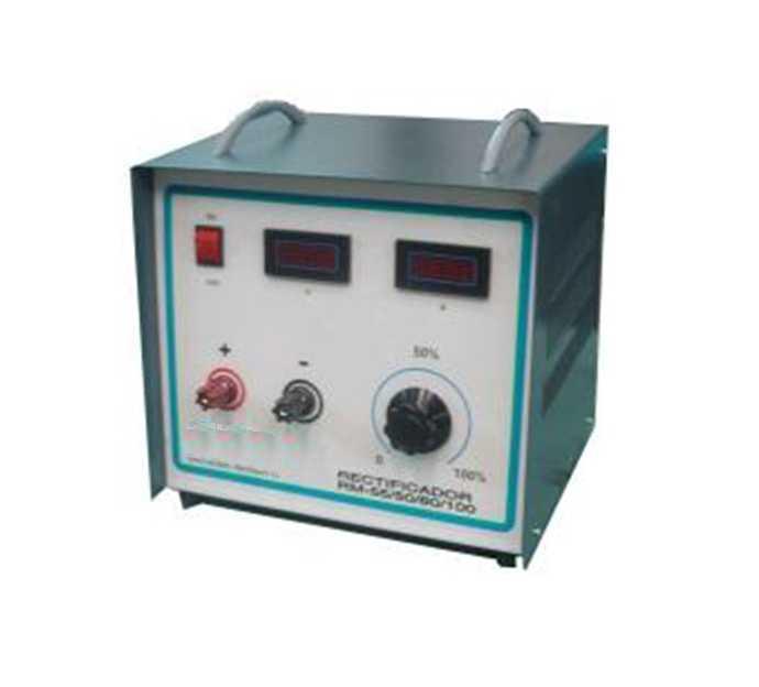 Rectificador 25v - 100A para baños y electropulido, digital