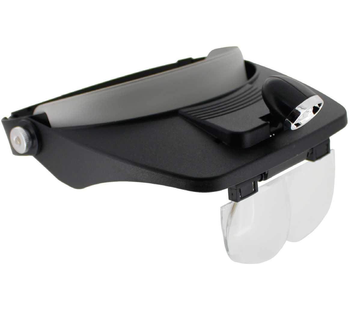 38€ Lupa binocular con luz