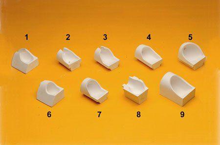 Crisoles protesico de ceramica