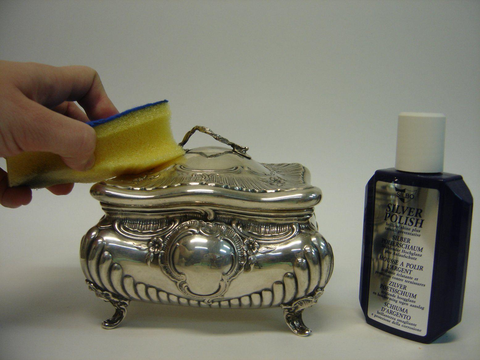 6,50€ Espuma limpia plata
