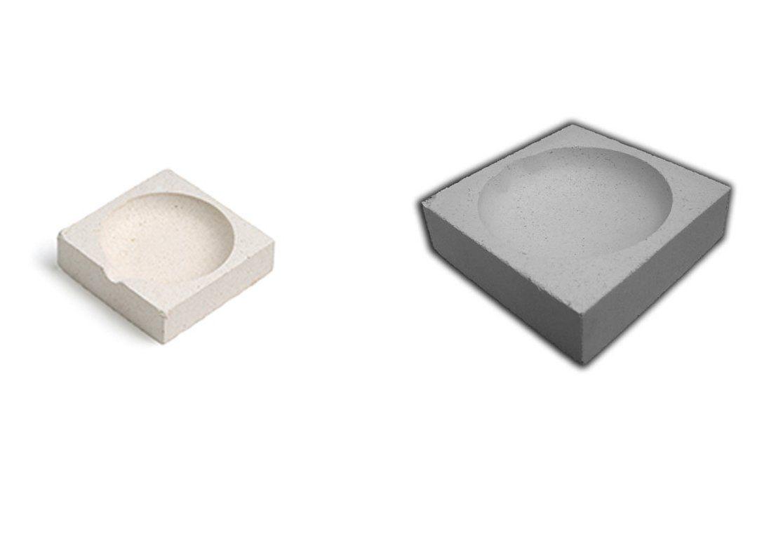 Crisoles y cemento refractario