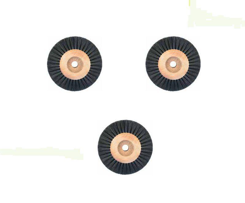Cepillos y brochines p/motor de pulir