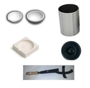 Crisoles, porta crisoles y cilindros