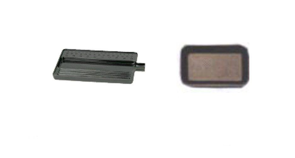 Bandejas y cajas p/piedras